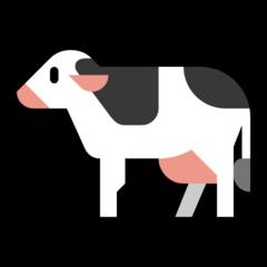 Cow microsoft emoji