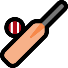 Cricket Bat And Ball microsoft emoji