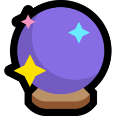 Crystal Ball microsoft emoji