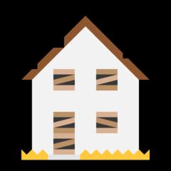 Derelict House Building microsoft emoji