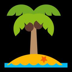 Desert Island microsoft emoji