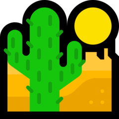 Desert microsoft emoji