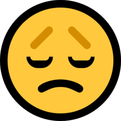 Disappointed Face microsoft emoji