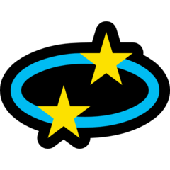Dizzy Symbol microsoft emoji