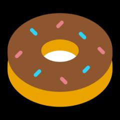Doughnut microsoft emoji