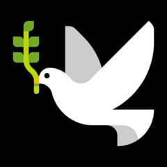 Dove Of Peace microsoft emoji