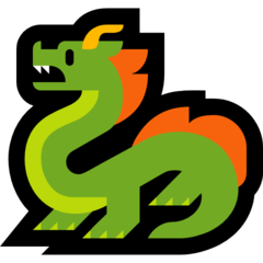 Dragon microsoft emoji