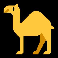 Dromedary Camel microsoft emoji