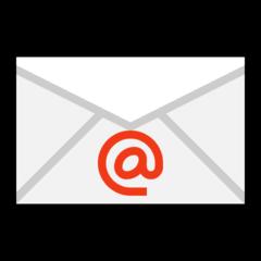 E-mail Symbol microsoft emoji