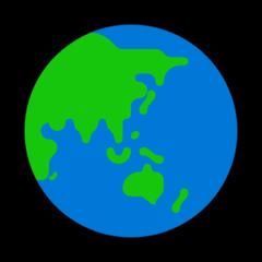 Earth Globe Asia-australia microsoft emoji