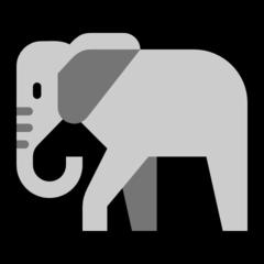 Elephant microsoft emoji