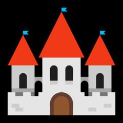European Castle microsoft emoji