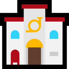 European Post Office microsoft emoji