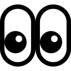 Eyes microsoft emoji