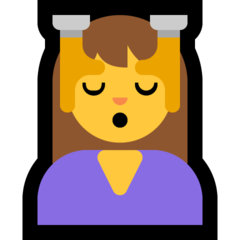 Face Massage microsoft emoji