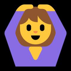 Face With Ok Gesture microsoft emoji