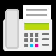 Fax Machine microsoft emoji