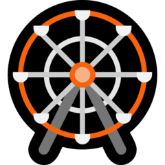 Ferris Wheel microsoft emoji