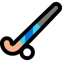Field Hockey Stick And Ball microsoft emoji