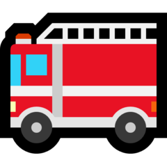 Fire Engine microsoft emoji