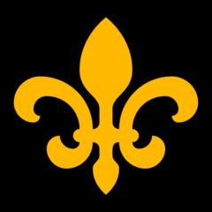 Fleur-de-lis microsoft emoji