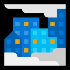 Foggy microsoft emoji