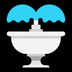 Fountain microsoft emoji