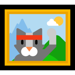 Frame With Picture microsoft emoji
