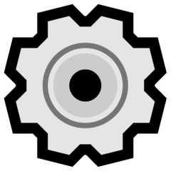 Gear microsoft emoji