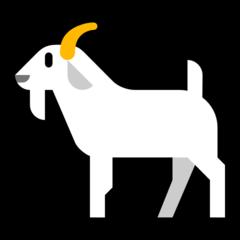 Goat microsoft emoji