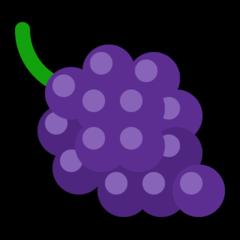 Grapes microsoft emoji