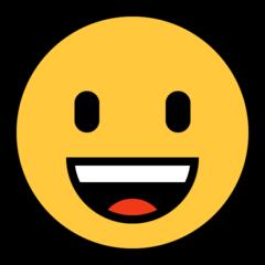 Grinning Face microsoft emoji