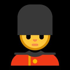 Guardsman microsoft emoji