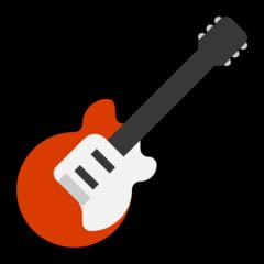 Guitar microsoft emoji