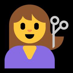 Haircut microsoft emoji