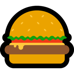 Hamburger microsoft emoji