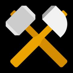 Hammer And Pick microsoft emoji