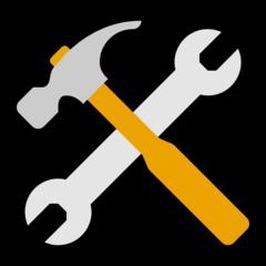 Hammer And Wrench microsoft emoji