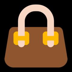 Handbag microsoft emoji