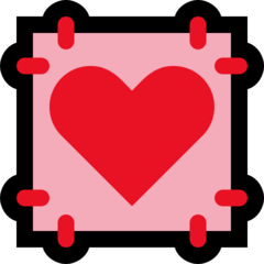 Heart Decoration microsoft emoji