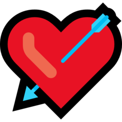 Heart With Arrow microsoft emoji