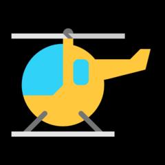 Helicopter microsoft emoji