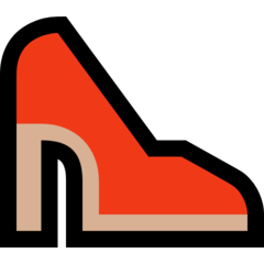 High-heeled Shoe microsoft emoji