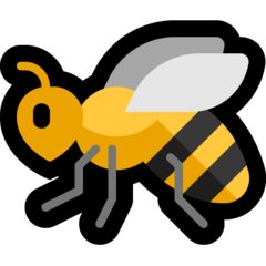Honeybee microsoft emoji