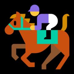 Horse Racing microsoft emoji