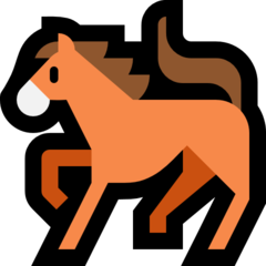 Horse microsoft emoji