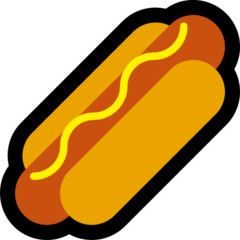 Hot Dog microsoft emoji