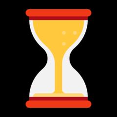 Hourglass With Flowing Sand microsoft emoji