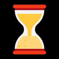 Hourglass microsoft emoji
