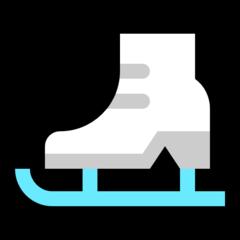 Ice Skate microsoft emoji